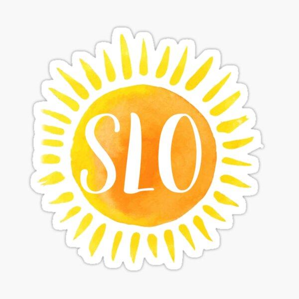 san luis obispo sun Sticker