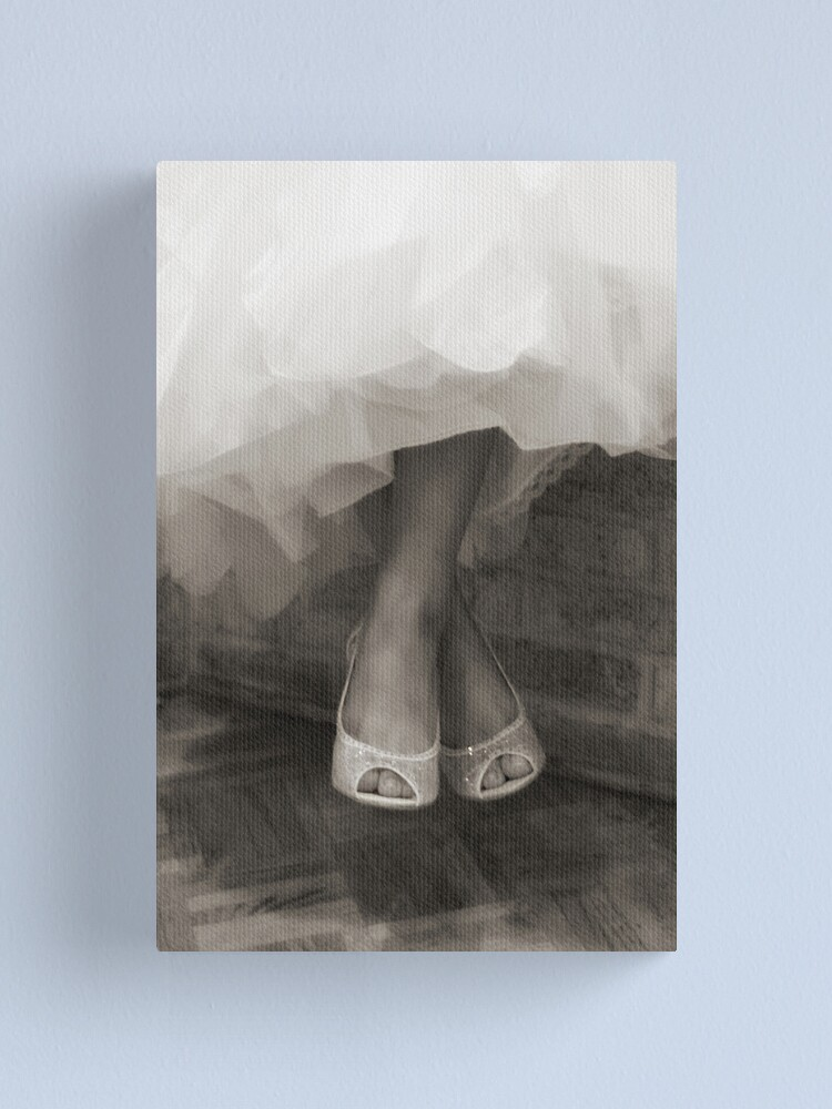 Alternate view of Wedding Shoes  Canvas Print