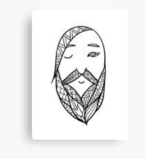 Beards 11 Canvas Print