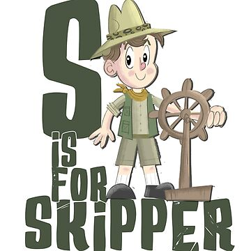 S is for Skipper by JungleCrews