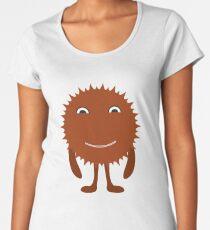 scary brown halloween Women's Premium T-Shirt