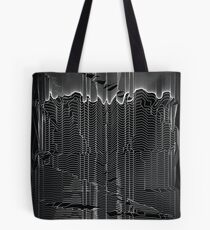 Refracture of the False Mend // Whiteline Tote Bag