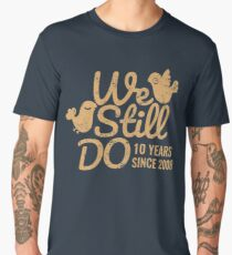 Tin Wedding Anniversary Gift Tee Ten Years of Marriage Couple T-shirt, Phone Cases And Other Gifts Men's Premium T-Shirt