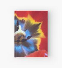 Macro tulip Hardcover Journal