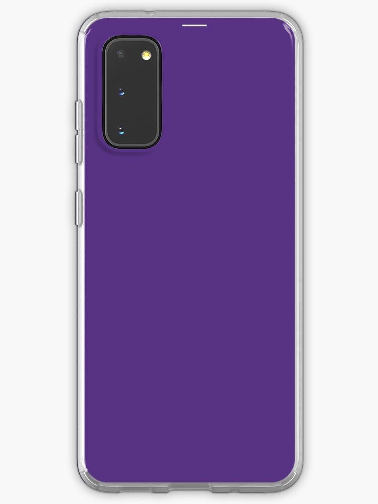 Coque iPhone unie violette - Violet uni Couleur préférée | Coque et skin adhésive Samsung Galaxy