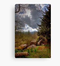 Leyburn Shawl Canvas Print
