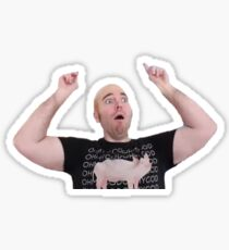 Shane Dawson  Bald Sticker