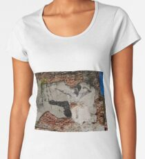 Kung Fu Fighting - Graffiti Art - Georgetown - Penang Island - Malaysia  Women's Premium T-Shirt