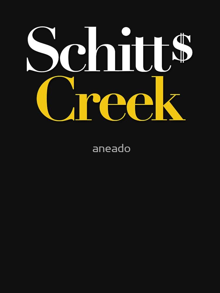 la serie de schitt's creek de aneado