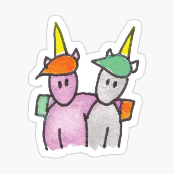 Unicorn Buddies Sticker