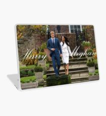 HRH Prince Harry and Meghan Markle Royal Wedding Laptop Skin