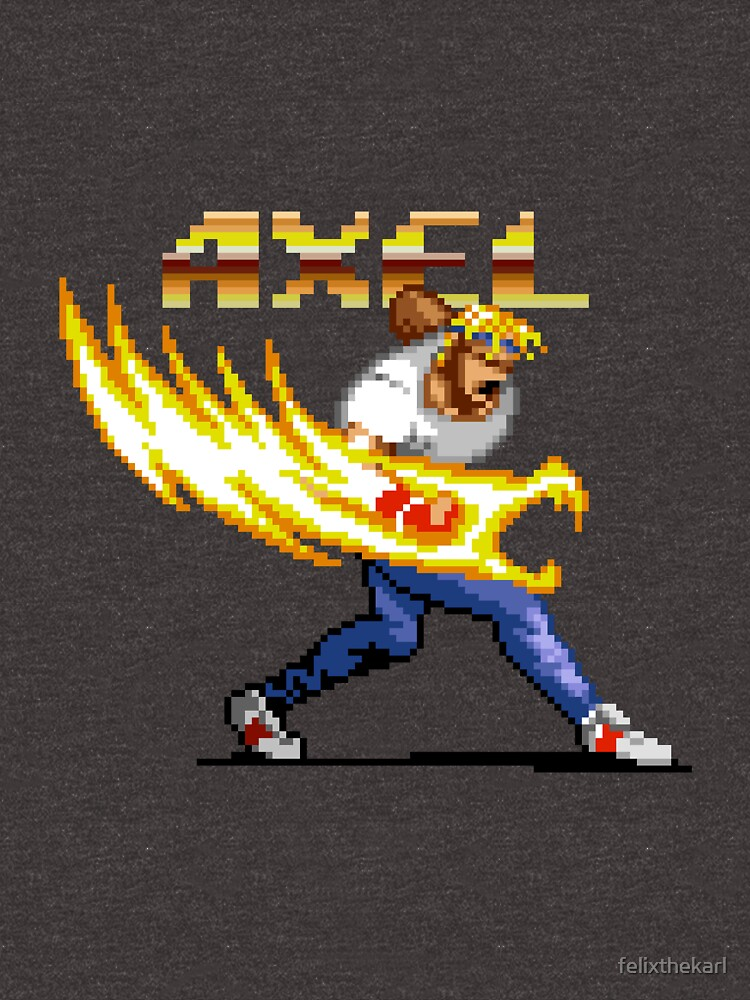 Axel Stone from Streets of Rage by felixthekarl