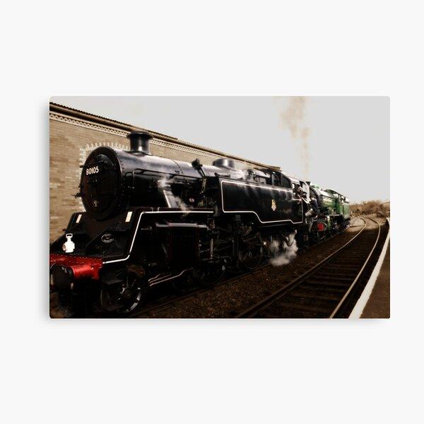 the train @ platform1 Canvas Print