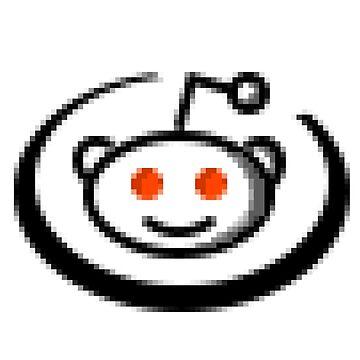 Reddit Pixel Art by seriousGEO