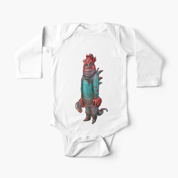 Steven Long Sleeve Baby One-Piece