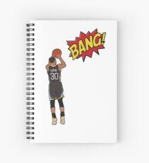 Stephen Curry - BANG! Spiral Notebook