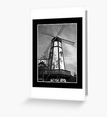 California Windmill Greeting Card