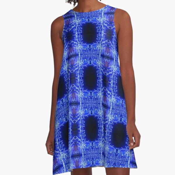Pattern, design, tracery, weave, astonishing, amazing, surprising, wonderful A-Line Dress