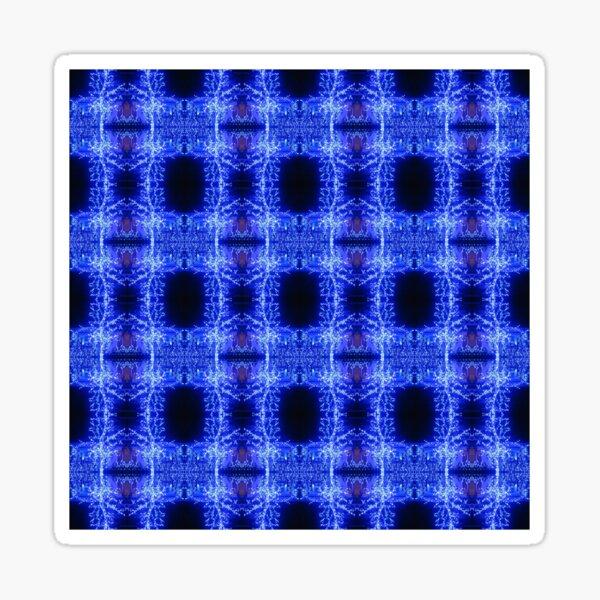 Pattern, design, tracery, weave, astonishing, amazing, surprising, wonderful Sticker