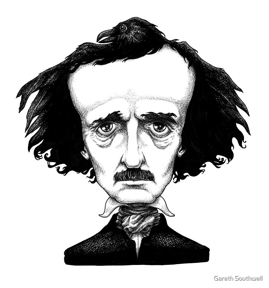Edgar Allan Poe by Gareth Southwell