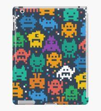 Funny Pixel Monsters iPad Case/Skin
