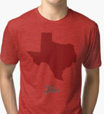 Texas - States of the Union Tri-blend T-Shirt