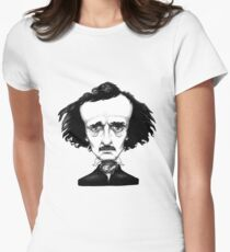 Edgar Allan Poe Women's Fitted T-Shirt