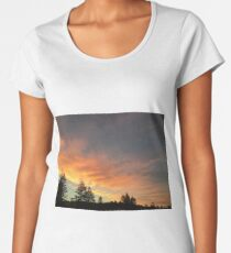 Beautiful orange/yellow sunset Women's Premium T-Shirt