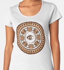 Aztec Maya Inca design. Women's Premium T-Shirt