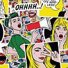 Comic-Muster von Elena Shmidt