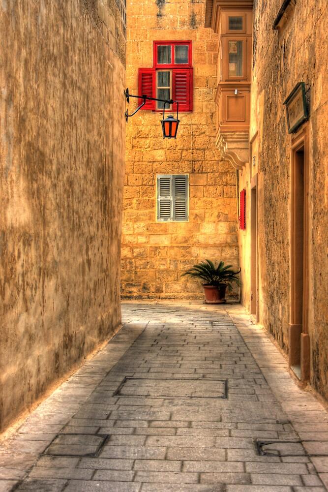 Mdina street by ziko