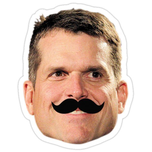 Jim Harbaugh Mustache