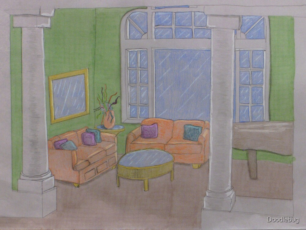 Room with a view by Doodlebug