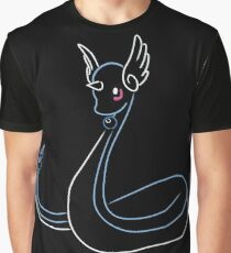 Minimalist Dragon Pokemon - Stage 1 Graphic T-Shirt