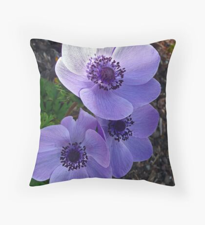 Passionately Purple Throw Pillow