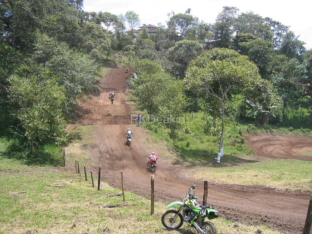 Motocross race in Ecuador by RKDeakin