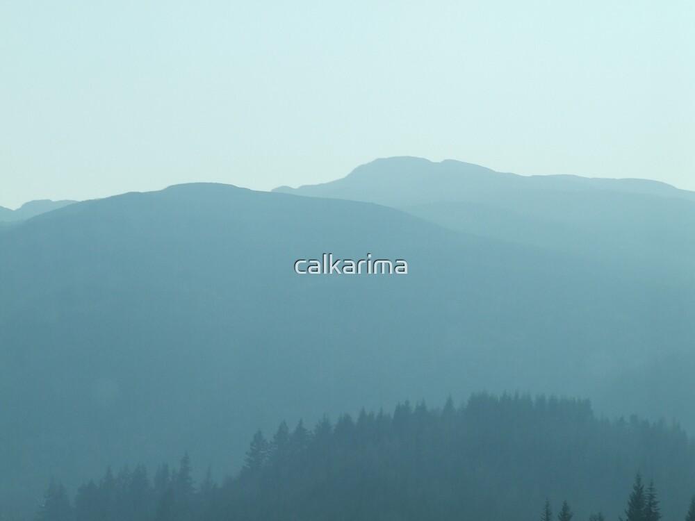 Hues of Blues by calkarima