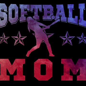 Softball Mom by preteeshirts