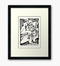 Prisoners Framed Print