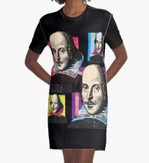 WILLIAM SHAKESPEARE Graphic T-Shirt Dress