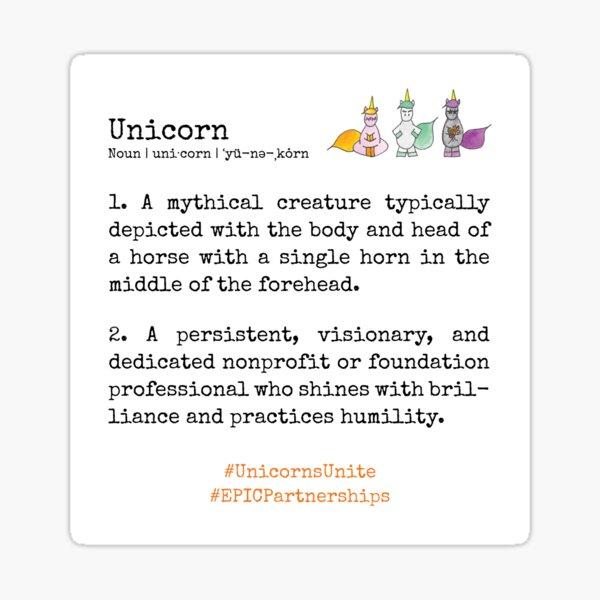 I am a Unicorn Sticker
