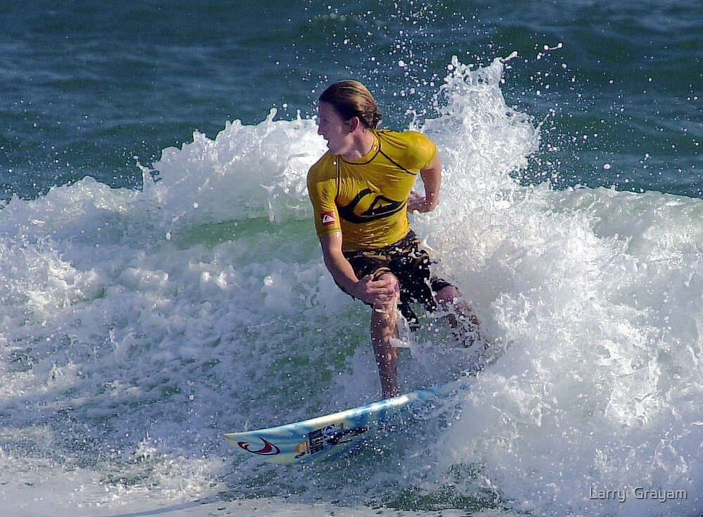 Surf dude by Larry  Grayam