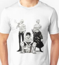 Monster Trio - One Piece Unisex T-Shirt