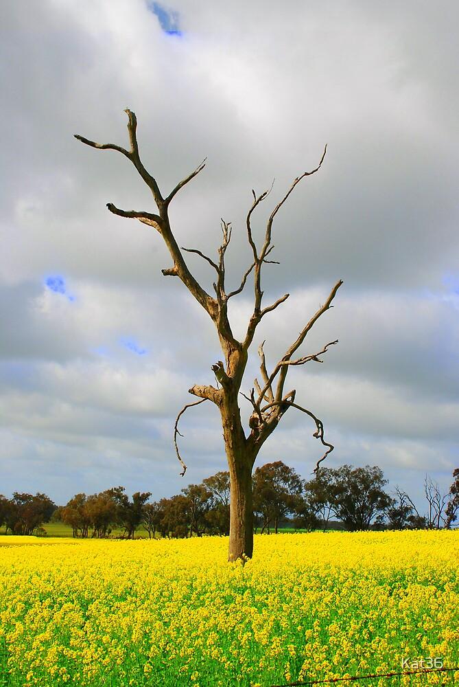 'Golden tree' by Kat36