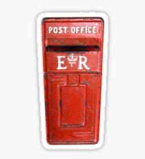 Post Office Box, Post, old, Antigua, Caribbean Sticker