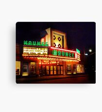 marquee at the maumee Canvas Print