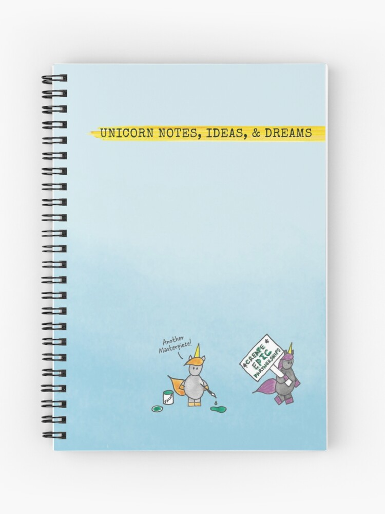 Unicorn Notes, Ideas, \u0026 Dreams