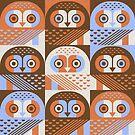 Elf Owls by Scott Partridge
