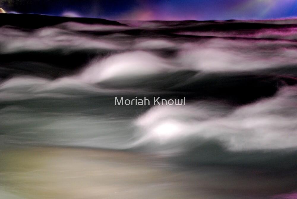 Watercolor Rapids by Moriah Knowl