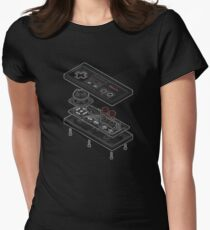 Game Console Women's Fitted T-Shirt